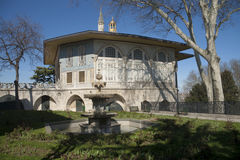 Pavilion in Topkapi palace, Istanbul Stock Photo