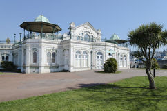 Pavilion. Torquay Pavilion seen before redevelopment Royalty Free Stock Images