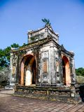 Pavilion in the Tu Dus tomb in Hue, Vietnam royalty free stock photography