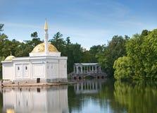 Pavilion Turkish bath. Catherine Park. Pushkin (Tsarskoye Selo). Petersburg Stock Photography