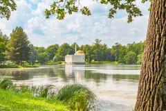 Pavilion Turkish bath in the Museum-reserve Tsarskoye Selo, Pushkin Royalty Free Stock Photo
