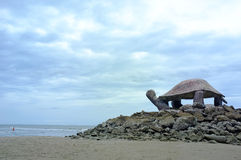 Pavilion turtle shape Royalty Free Stock Photography