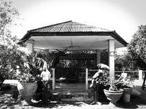 Pavilion in univercity at Prajinburi Royalty Free Stock Image