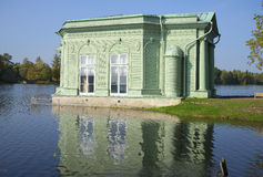 The pavilion of Venus, september day. Gatchina, Leningrad region Royalty Free Stock Image