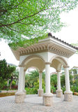 Pavilion in the villa district Royalty Free Stock Photo