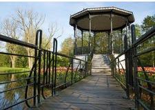 Pavilion Vondelpark. Entrance path to Pavilion Vondelpark Stock Images
