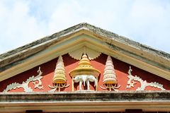 Sala Phra Wihan Daeng, Songkhla, Thailand. This pavilion was constructed under the royal command of King Rama IV and was still unfinished. In 1889 when the King Stock Images