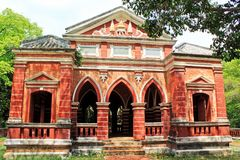 Sala Phra Wihan Daeng, Songkhla, Thailand. This pavilion was constructed under the royal command of King Rama IV and was still unfinished. In 1889 when the King Stock Photo