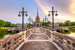 Pavilion on the water Royalty Free Stock Photography