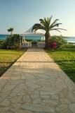 Pavilion for wedding on the beach Stock Photo