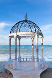 Pavilion for wedding ceremonies Royalty Free Stock Image