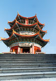 Pavilion in Yuanxuan Taoist Temple Guangzhou China Stock Image