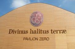 Pavilion zero at Expo 2015 Royalty Free Stock Photos