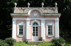 PAVILIONPavilion no solar Sheremetevyh foto de stock royalty free