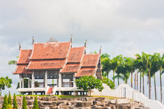 The Pavilions in the Garden. Made for all tourist to see some Architecture of Thailand. It is very beautiful place for tourist, if you come to Thailand Stock Photography