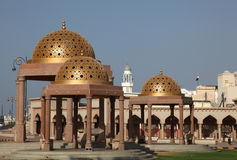 Pavilions in Muttrah, Oman Stock Photo