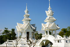 Pavilions at the White temple Royalty Free Stock Images