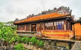 Paviljoen bij de Verboden Stad in Tint, Vietnam stock fotografie