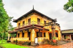 Paviljoen bij de Verboden Stad in Tint, Vietnam stock afbeelding