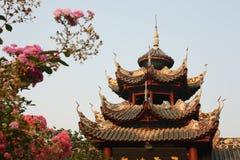Paviljoen in Chinese tuin royalty-vrije stock foto's