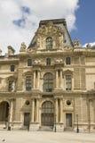 Paviljoen Colbert van Louvre in Parijs royalty-vrije stock fotografie