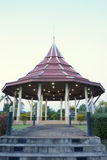Paviljoen in het park Royalty-vrije Stock Fotografie