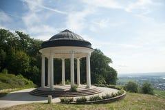 Paviljoen op de heuvel Stock Afbeeldingen
