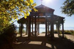 Paviljoen op Rose Island royalty-vrije stock foto's