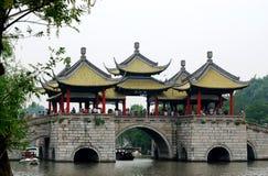 Paviljoen op water Stock Foto
