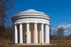 Paviljoen in park Royalty-vrije Stock Foto's