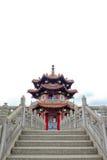 Paviljoen van Chinese architectuur bij 228 Vrede Memorial Park Stock Foto