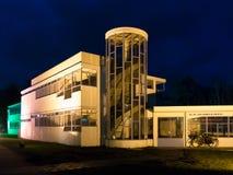 Paviljoen van oud sanatorium Zonnestraal in Hilversum, Holland stock fotografie