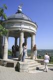 Paviljoen van Pyatigorsk Mening van de stad Royalty-vrije Stock Foto's