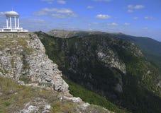 Paviljoen van winden, de Krim stock foto's