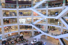 PAVILJOENwinkelcomplex Kuala Lumpur Stock Fotografie