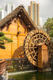 Paviljong av absolut perfektion i Nan Lian Garden, Hong Kong Arkivbilder