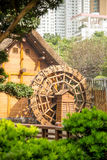 Paviljong av absolut perfektion i Nan Lian Garden, Hong Kong Royaltyfri Bild