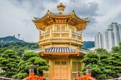 Paviljong av den absoluta perfektionchien Lin Hong Kon Royaltyfria Bilder