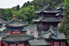 Paviljong av dyrbara moln, på jordningen av sommarslotten i Peking Arkivfoto