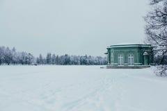 Paviljong av förälskelse royaltyfria foton
