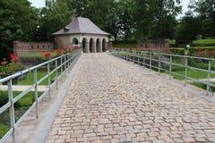 Paviljong - citadell - Lille - Frankrike arkivfoton