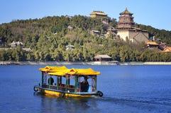 Paviljong för kineser för Beijing sommarslott Arkivfoton