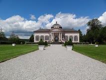 paviljong för melk för trädgård för abbeyÖsterrike barock Royaltyfri Fotografi