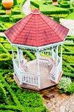 Paviljong i trädgården Royaltyfria Foton