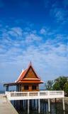 Paviljong på templet Arkivbild