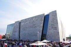 paviljong shanghai för porslin expo2010 italy Arkivbild