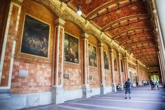 Paviljong Trinkhalle i Baden-Baden, Tyskland, august 2014 Royaltyfri Fotografi
