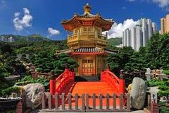 Paviljongen av absolut perfektion i Nan Lian Garden Arkivbild