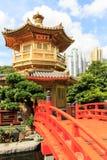 Paviljongen av absolut perfektion i Nan Lian Garden Royaltyfri Bild