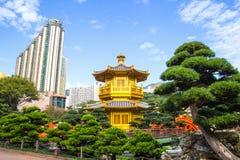 Paviljongen av absolut perfektion inom Nan Lian Garden Hong Kong Royaltyfri Fotografi